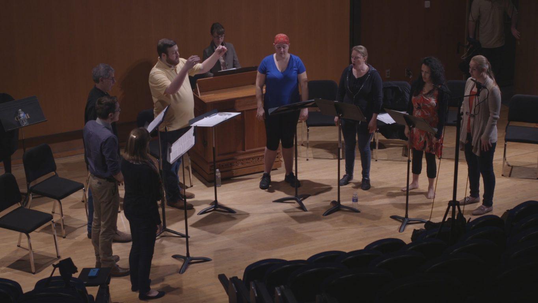 Recording session at FSU