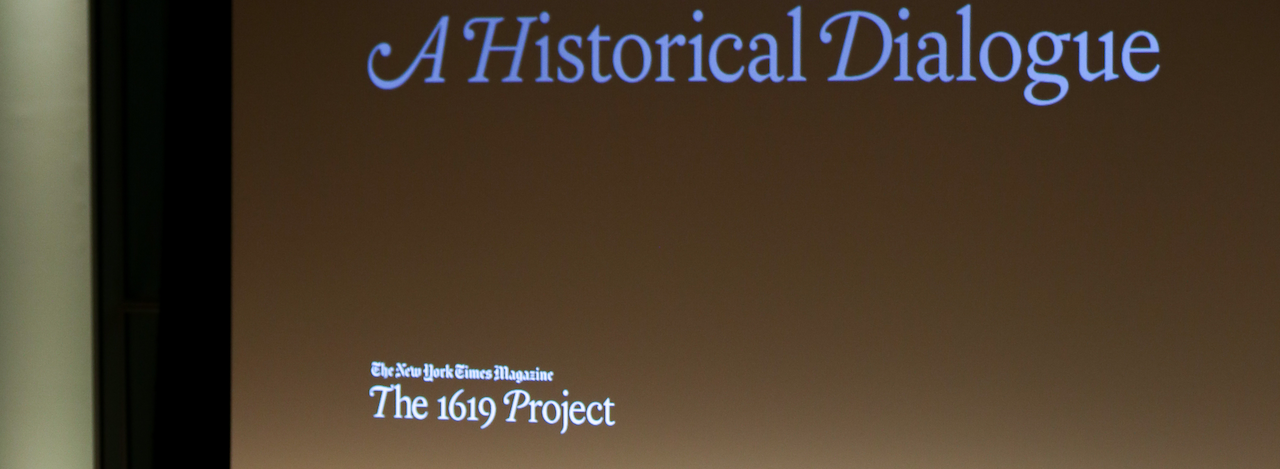 New York Times The 1619 Project